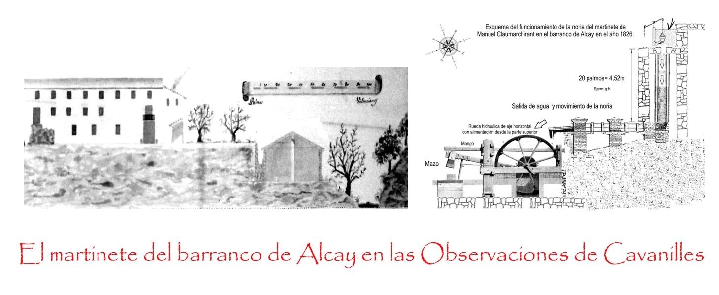 El martinete del barranco Alcay