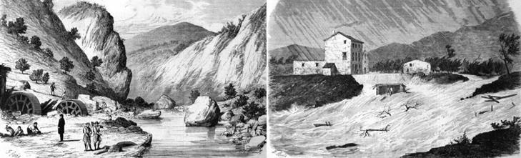 La riada e inundación de 1864.